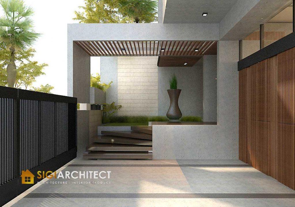 MODERN HOUSE DESIGN CARPORT RUMAH MINIMALIS 500 M2