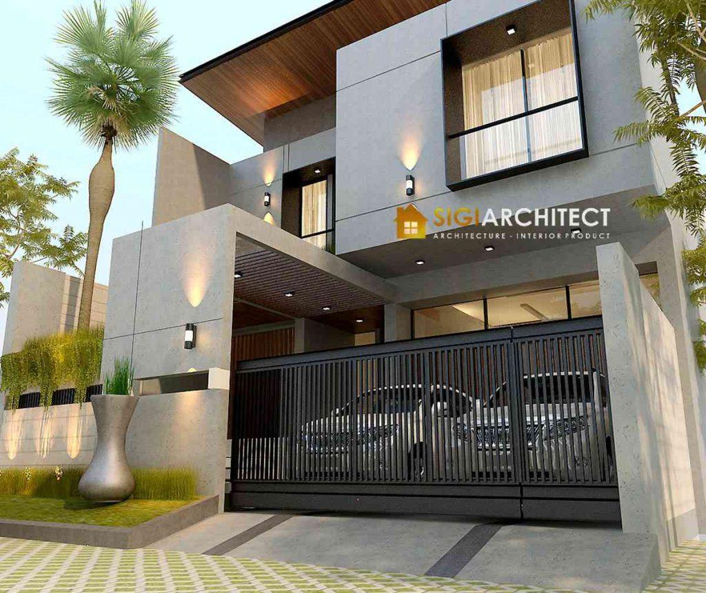 MODERN HOUSE DESIGN RUMAH MINIMALIS 500 M2