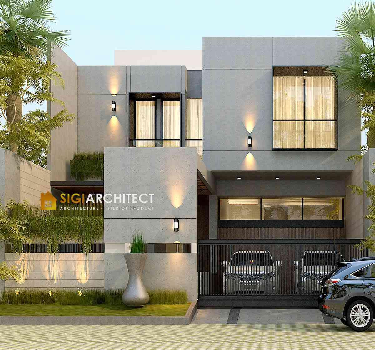MODERN HOUSE DESIGN RUMAH MODERN MINIMALIS 500 M2
