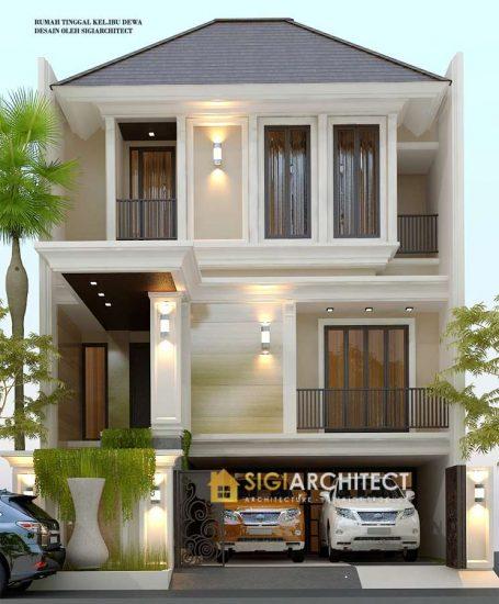 jasa arsitek desain rumah TINGKAT 3 LANTAI