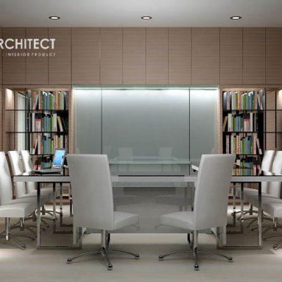 desain interior mewah ruang rapat